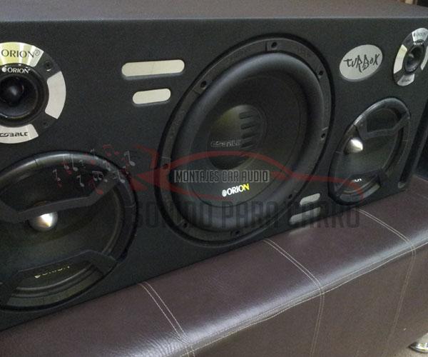 Caja acústica convencional