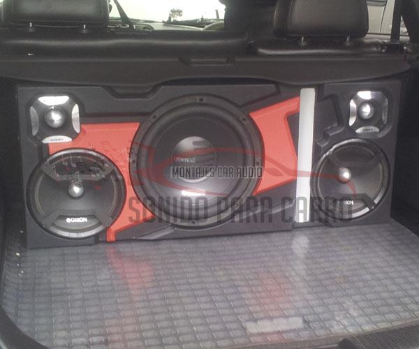 Cajón de sonido para vehículos