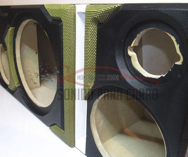 Caja Acústica subwoofer , medios y tweter